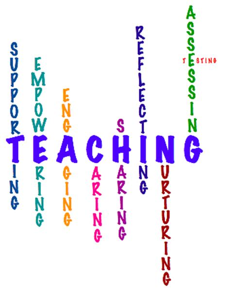 Example of personal statement for teaching course